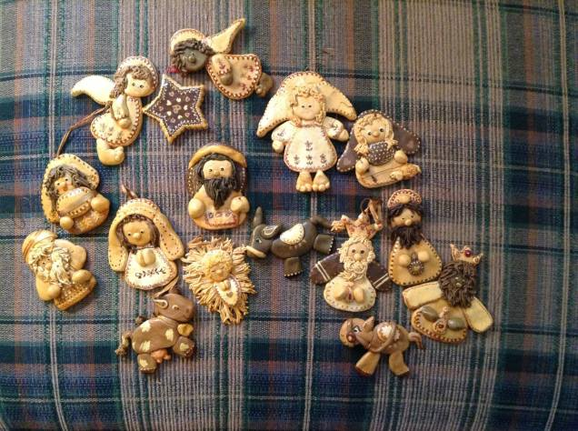 Saltdough ornaments