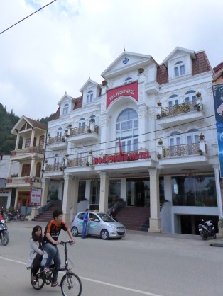 Our hotel in Sapa.